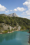 Mount Sainte Victoire in Provence Royalty Free Stock Image