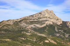 Mount sainte Victoire Stock Photography