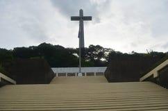 Mount Samat National Shrine. Bataan Philippines. Mount Samat National Shrine, Shrine of Valor in Bataan, Philippines, Southeast Asia Stock Image