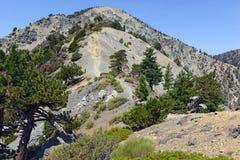 Mount San Antonio or Mount Baldy, California Stock Photos