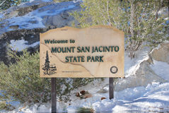Mount San Jacinto Royalty Free Stock Images
