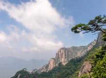 Mount Sanqing or Sanqingshan in Jiangxi, China stock photo