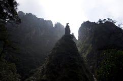 Mount Sanqing, Sanqingshan, Jiangxi China stock photo