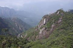 Mount Sanqing, Sanqingshan, Jiangxi China Royalty Free Stock Photo