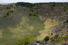 Mount Schank, South Australia. Volcano crater Mount Schank near Mount Gambier, South Australia Royalty Free Stock Images
