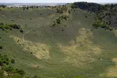 Mount Schank, South Australia. Volcano crater Mount Schank near Mount Gambier, South Australia Stock Photo