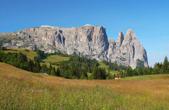 Mount Sciliar in the Dolomites Stock Image