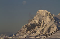 Mount Scott in the Antarctic Peninsula Stock Image