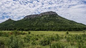 Mt Scott. Mount Scott is the center piece of the Wichita Mountains Stock Images