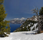 Mount Scott from Crater Lake Royalty Free Stock Image