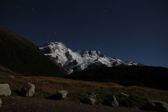 Mount Sefton from Car Park Royalty Free Stock Image