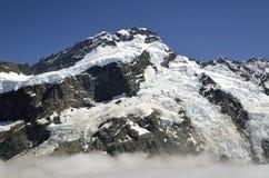 Mount Sefton view, New Zealand. Stock Photos