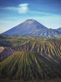 Mount Semeru Volcano in Java, Indonesia Royalty Free Stock Photography