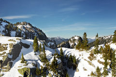 Mount Seymour - First Peak - Vancouver,BC Canada Stock Photography