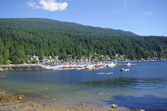 Mount Seymour seen from Deep Cove Stock Images