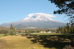 Mount Shasta. Mt. Shasta in Weed, California Stock Photography