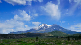 Mount shasta. Serene view northern california Royalty Free Stock Photography