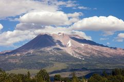 Mount Shasta Stock Image