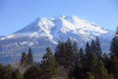 Mount Shasta California. Royalty Free Stock Photo