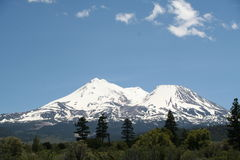 Mount Shasta California Royalty Free Stock Images