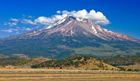 Mount Shasta in California Stock Photo