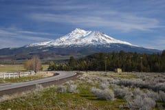Mount shasta Stock Images
