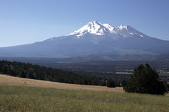 Mount Shasta Summer Stock Image