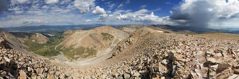 Mount Sherman Summit Panorama Stock Image