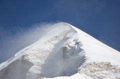 Mount Shivling stock images