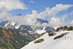 Mount Shuksan Royalty Free Stock Images