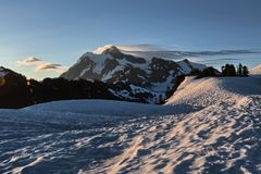 Mount Shuksan Stock Photo