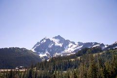 Mount Shuksan with bluesky Stock Image