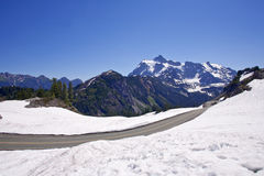 Mount Shuksan view from Artist Point Royalty Free Stock Photos