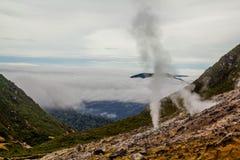Mount Sibayak, Berastagi,Indonesia. Top of Mount Sibayak, Indonesia Stock Image