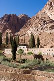 Mount Sinai 3. St. Catherine's Monastery, Mt. Sinai, Egypt stock images