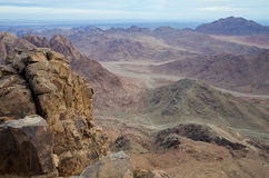 Mount Sinai in early morning Royalty Free Stock Photography