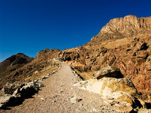 Mount Sinai, Egypt. Track leading to the summit of Sinai in the summertime Stock Photography