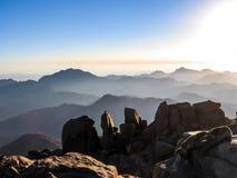 Mount Sinai Egypt Stock Image