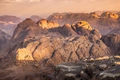Mount Sinai. Egypt. Royalty Free Stock Image