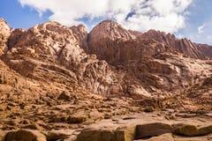 Mount Sinai. Egypt. Royalty Free Stock Photography