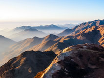 Mount Sinai Egypten Royaltyfri Fotografi
