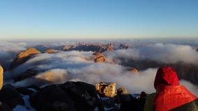Mount Sinai gryning Royaltyfri Fotografi