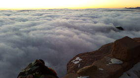 Mount Sinai gryning Arkivfoton