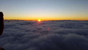 Mount Sinai gryning Arkivfoto