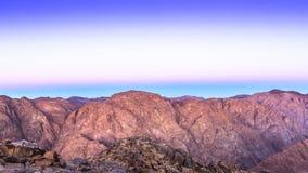 Mount Sinai montering Moses i Egypten Arkivfoton