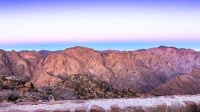 Mount Sinai montering Moses i Egypten Royaltyfria Bilder