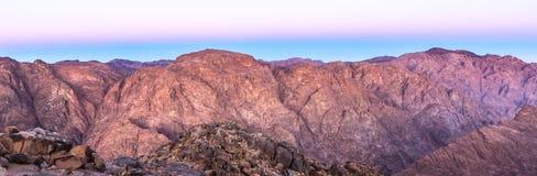 Mount Sinai montering Moses i Egypten Arkivbild