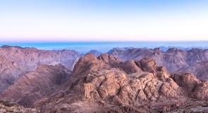 Mount Sinai montering Moses i Egypten Fotografering för Bildbyråer