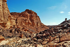Mount Sinai in the morning Royalty Free Stock Photos