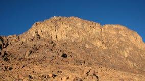 Mount Sinai Sinai halvö, Egypten Royaltyfria Foton